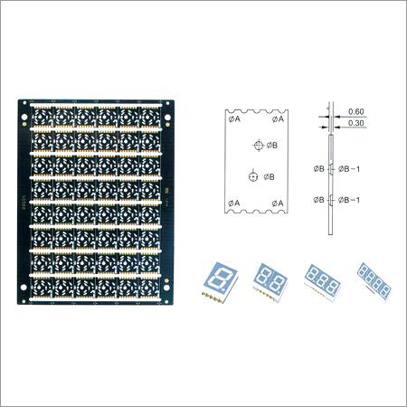LED Half Hole PCB
