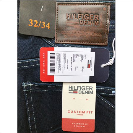 Mens Denim Blue Jeans