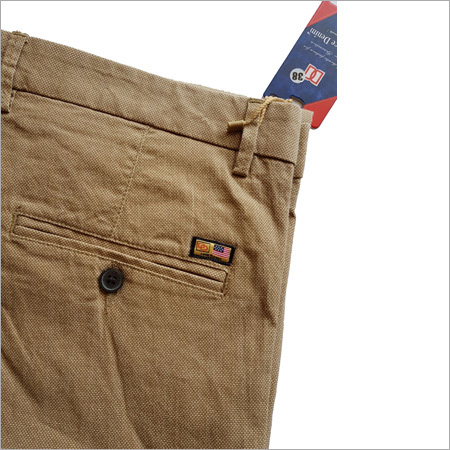 Mens Brown Pant