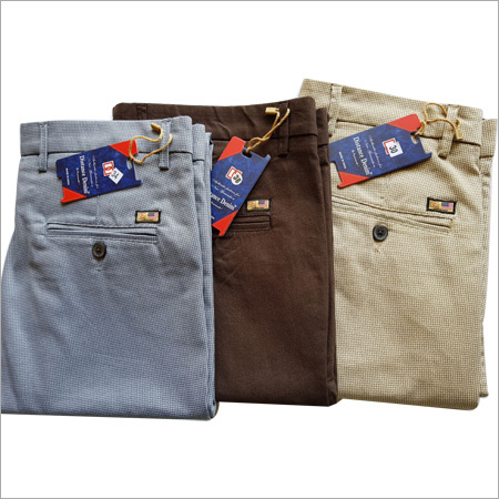 Mens Multicolor Pants