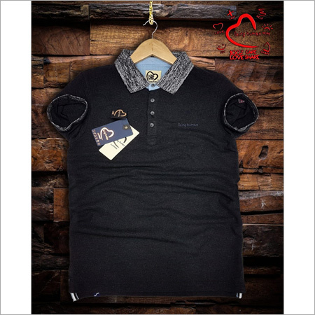Mens Black T Shirt