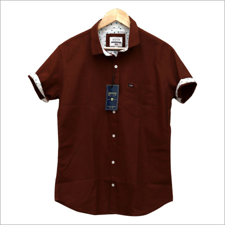 Mens Brown Arrow Shirts