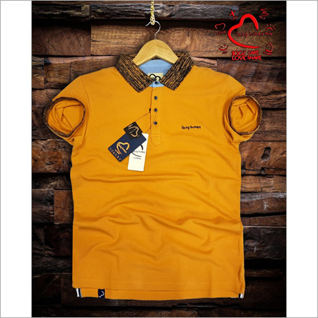 Mens Yellow Arrow Shirts