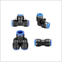 L Type Pneumatic Joint Push Connector