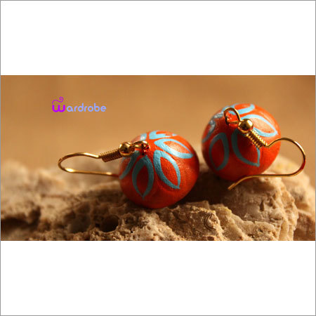 Handmade Terracotta Earrings
