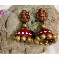 Handmade Terracotta Earrings