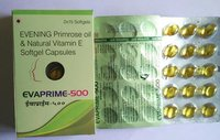 Evening Primrose Oil & Natural Vitamin E Softgel Capsule
