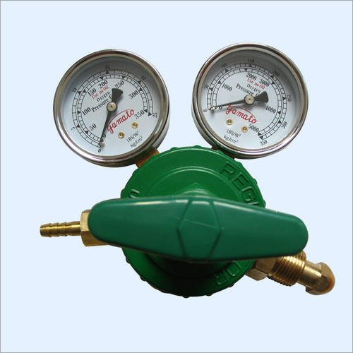 Double Gauge Oxygen Regulator