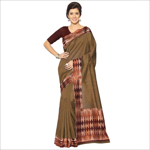 Ladies Bhagalpuri Fancy Saree
