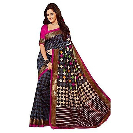 Ladies Bhagalpuri Trendy Saree