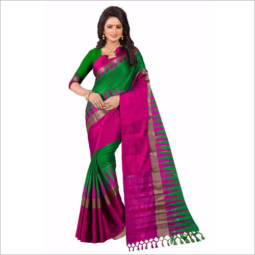 Ladies Cotton Designer Saree