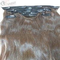 3 clip human hair extensions