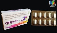 Cissus Quadrangularis, CCM,Vitex Negundo,Boswellia Serrata & Withania Somnifera with VIT. D3 Tablets