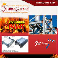 Fireproof paint