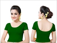 Ladies Green Color Blouses