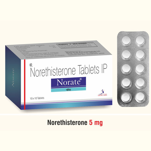 Norethisterone Acetate  5 mg.