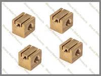 Brass shunt block