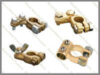 Brass battery parts