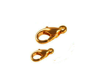 Gold Plated Lobster Clasp for make your own jewelry – Jewelry Findings