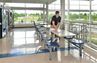 Cafeteria Chair Cleaning