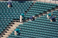 Stadium Chair Cleaning