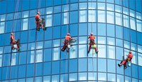 Glass Facade Cleaning
