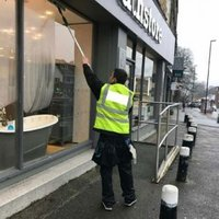 Shop & Store Glass Cleaning