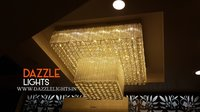 Modern Glass Crystal Chandelier