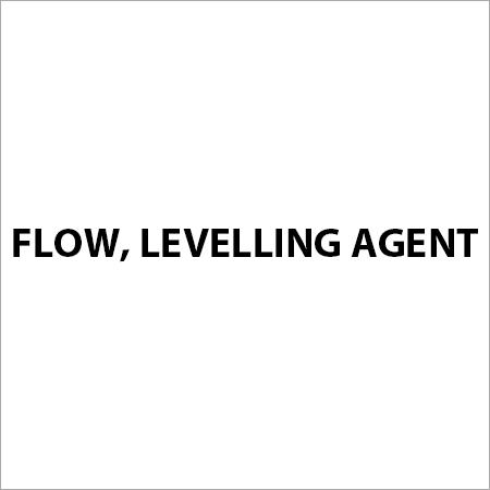 Flow, Levelling Agent