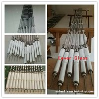 Spiral / Heater / Heating coils inside the heating furnace of Glass Tempering furnace/ Glass Toughening Plant