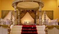 Indian Crystal Wedding Mandap