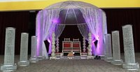 Dome Crystal Wedding Mandap