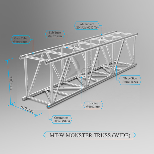 MT-W (MONSTER TRUSS WIDE)