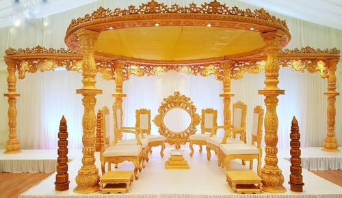 Latest Bollywood Style Wedding Mandap