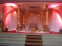 Beautiful Wooden Wedding Mandap