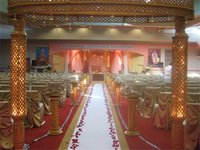 Beautiful Wood Wedding Mandap