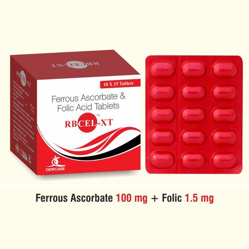 Ferrous fum + Folic A + Vit.B12 + Zinc