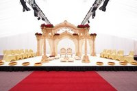 New Wooden Wedding Mandap