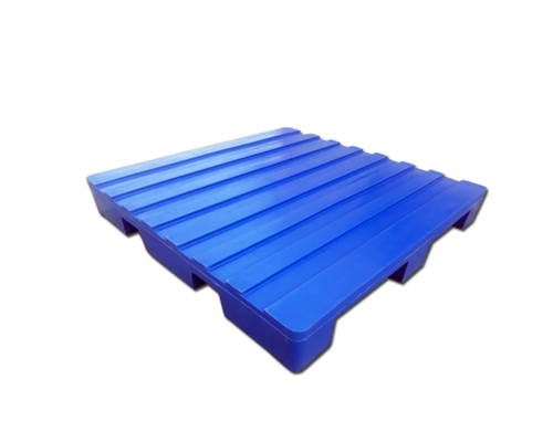 ROTO MOLDED FOUR WAY CORRUGATED TOP PLASTIC PALLET