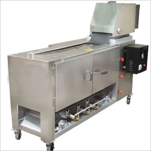 Semi Cooked Chapati Making Machine