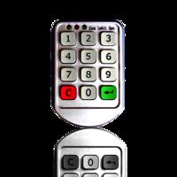 Pin cabinet Lock
