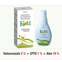 Ketoconazole + ZPTO +  Aloe Vera