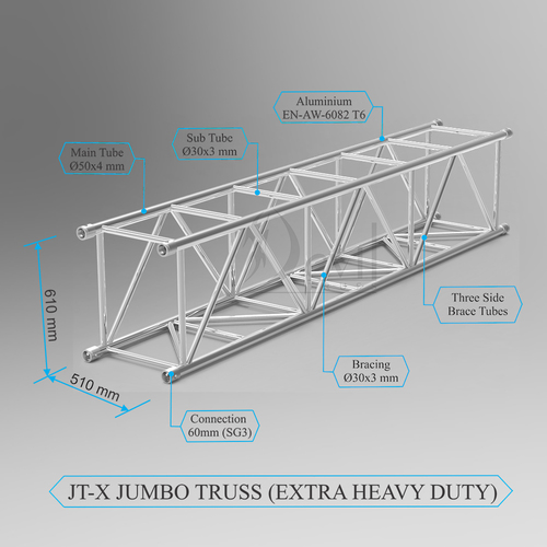 Jumbo Extra Heavy Duty Truss