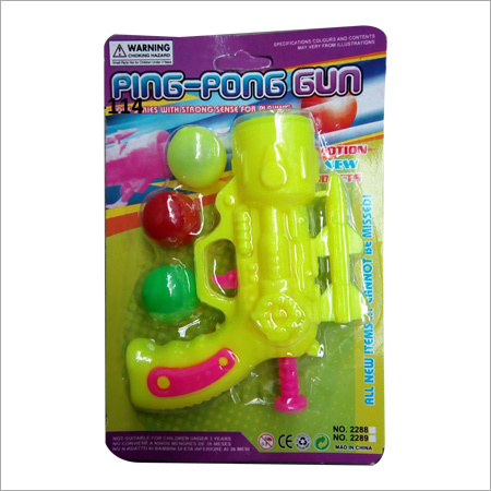 Plastic Ball Shooting Gun