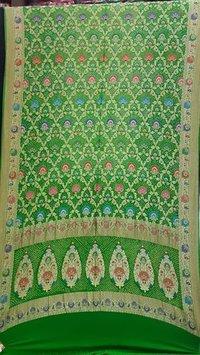 Green Bandhani Dupatta