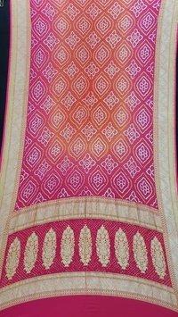 Bandhani Cotton Dupatta Jamnagar