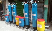 Distilled water plant