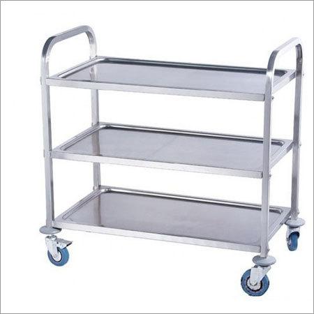 Stainless Steel Kitchen Trolley