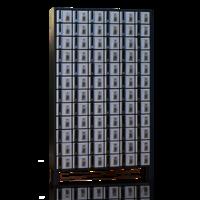 72 Lockers (K-5D)