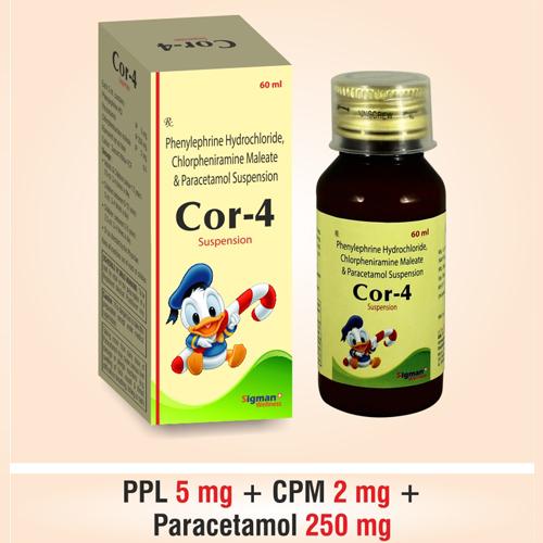 Paracetamol + Phenylephrine + C.P.M